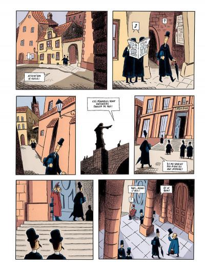 Page 8 le procès, d'après franz kafka