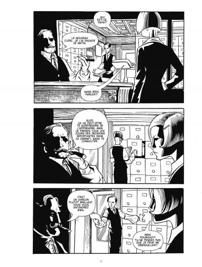 Page 1 courtney crumrin ; portrait du sorcier en jeune homme