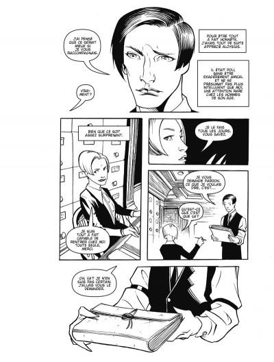 Page 3 courtney crumrin ; portrait du sorcier en jeune homme