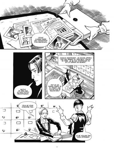 Page 4 courtney crumrin ; portrait du sorcier en jeune homme
