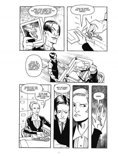Page 5 courtney crumrin ; portrait du sorcier en jeune homme