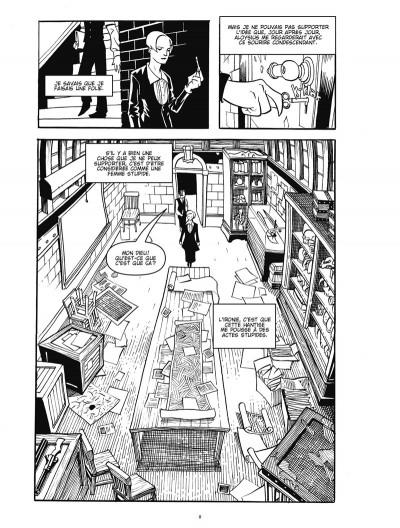 Page 6 courtney crumrin ; portrait du sorcier en jeune homme