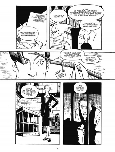 Page 7 courtney crumrin ; portrait du sorcier en jeune homme