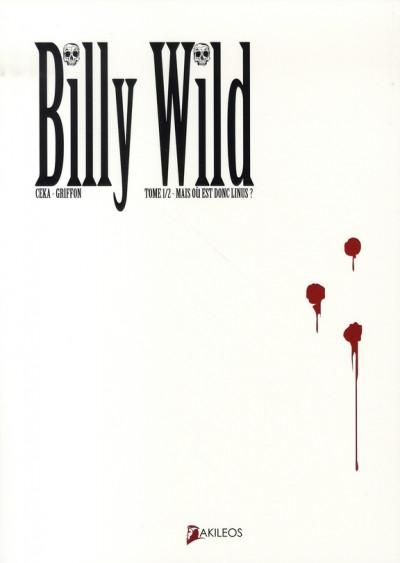 image de Billy Wild tome 1 - mais où est donc Linus ?