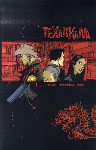 Couverture texarkana tome 1