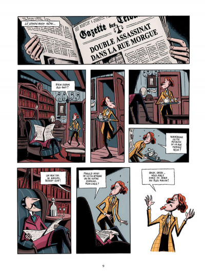 Page 8 double assassinat dans la rue morgue