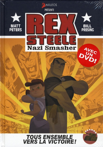 image de rex steele ; nazi smasher