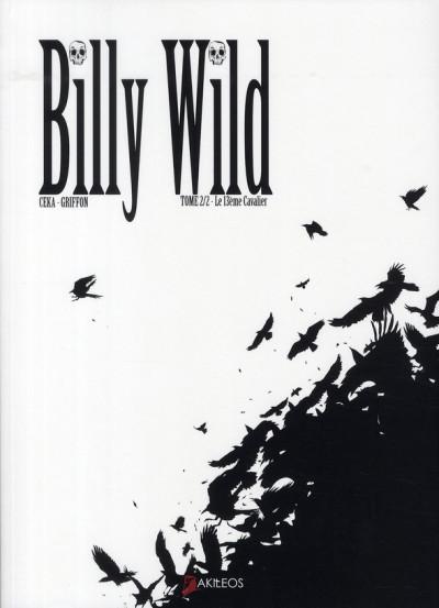 Couverture billy wild tome 2 - le 13ème cavalier