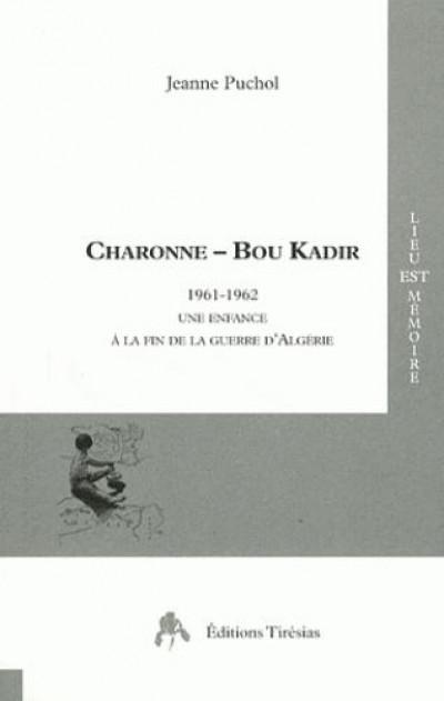 Couverture Charonne - Bou Kadir
