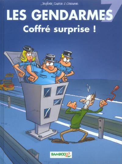 image de les gendarmes tome 7 - coffré surprise