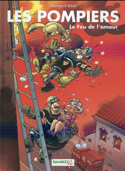 image de les pompiers tome 3 - le feu de l'amour