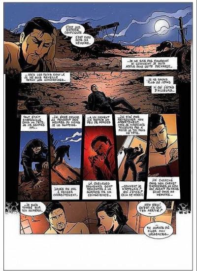 Page 2 L'homme qui refusait de mourir tome 1