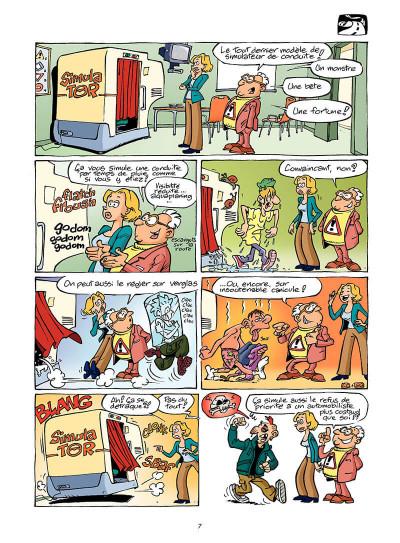 Page 6 l'auto école tome 1 - permis de conduire