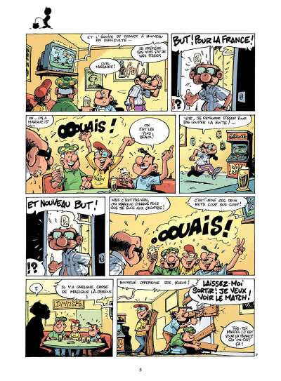 Page 4 les footmaniacs tome 3