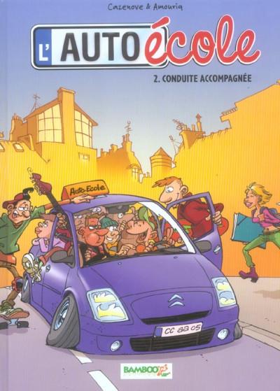 image de l'auto école tome 2 - conduite accompagnée