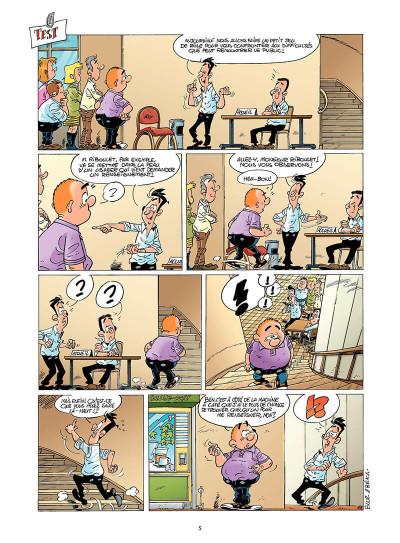 Page 4 les fonctionnaires tome 6 - employés des tas