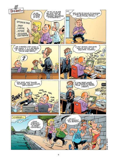 Page 5 les fonctionnaires tome 6 - employés des tas