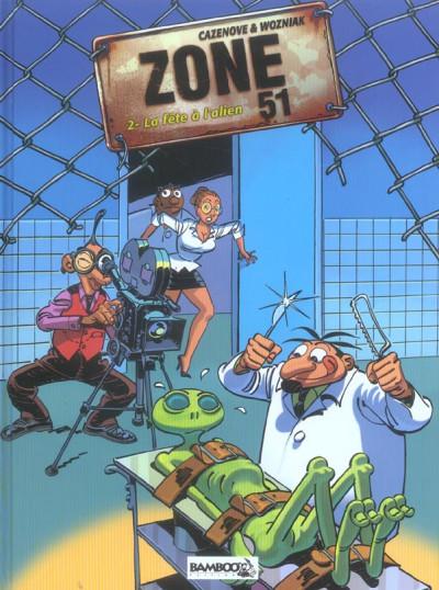 Couverture Zone 51 tome 2
