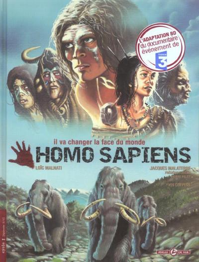 Couverture Homo sapiens tome 1