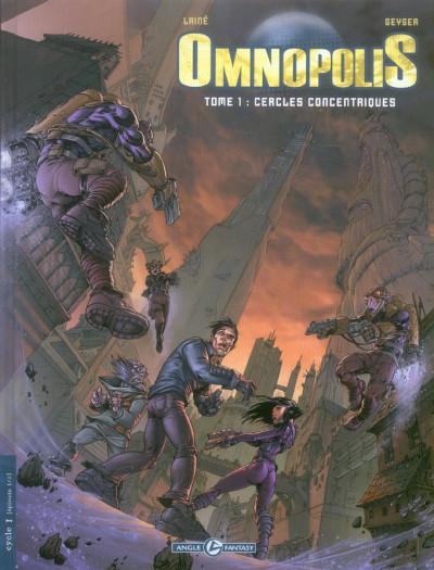 Couverture omnopolis tome 1 - cercles concentriques