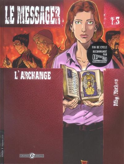 image de le messager tome 3 - l'archange