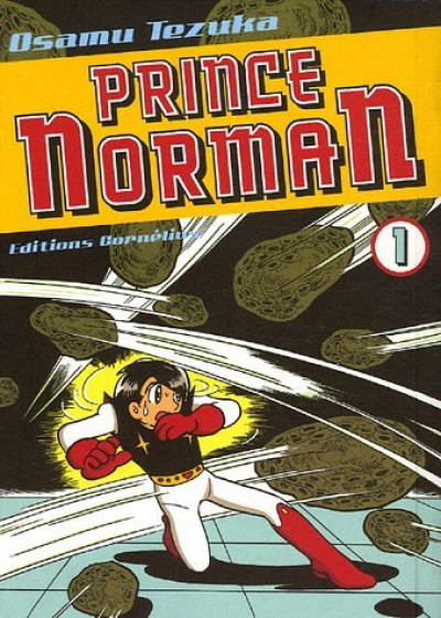 Couverture prince norman tome 1