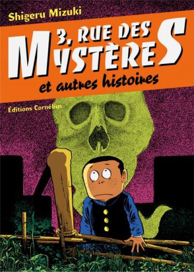 Couverture 3 rue des mystères et autres histoires tome 1