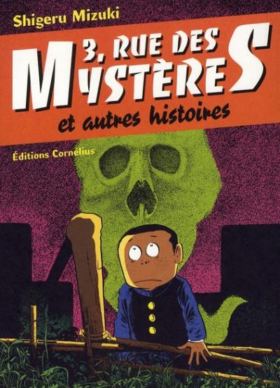 Dos 3 rue des mystères et autres histoires tome 1