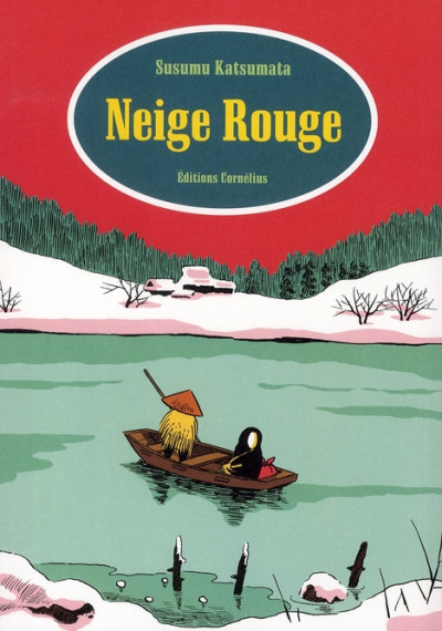 Couverture neige rouge