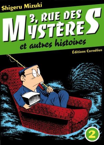 Couverture 3 rue des mystères et autres histoires tome 2