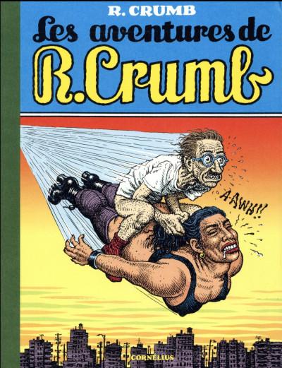 Couverture les aventures de robert crumb
