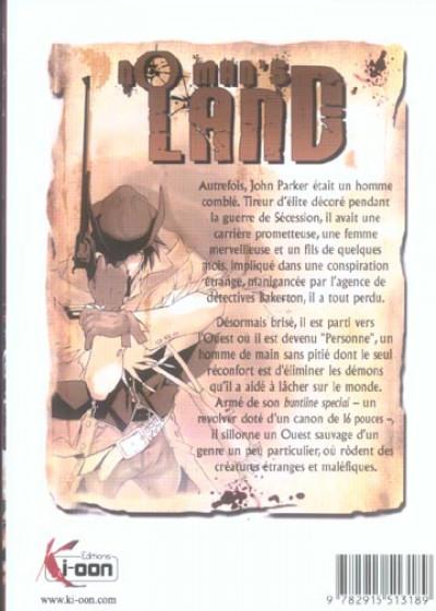 Dos no man's land tome 1