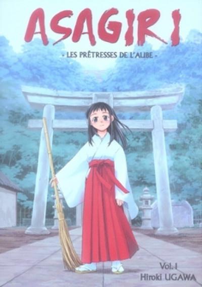 Couverture asagiri, les prêtresses de l'aube tome 1
