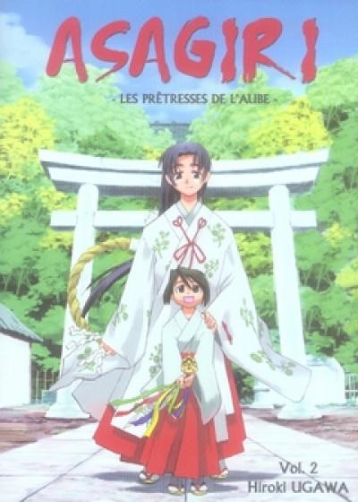 Couverture asagiri, les prêtresses de l'aube tome 2