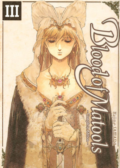 Couverture blood of matools tome 3