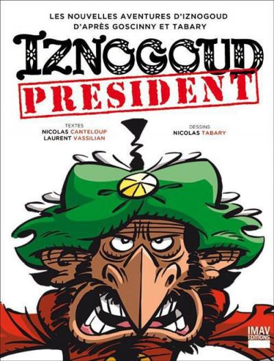 Couverture Iznogoud ; président