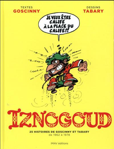 Couverture Iznogoud ; album anniversaire
