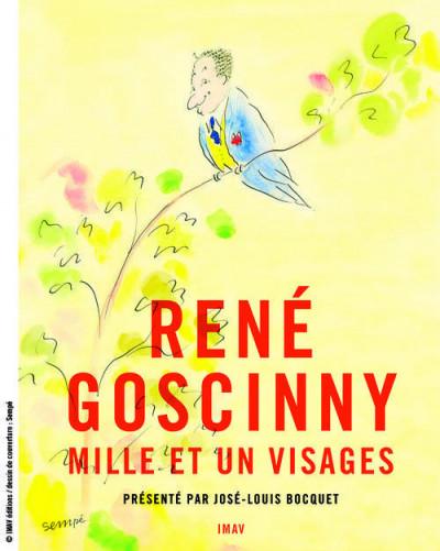 Couverture René Goscinny ; mille et un visages