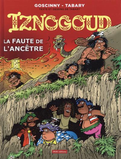 Couverture Iznogoud tome 27 - la faute de l'ancêtre