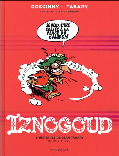 Couverture Iznogoud - 6 histoires de Jean Tabary