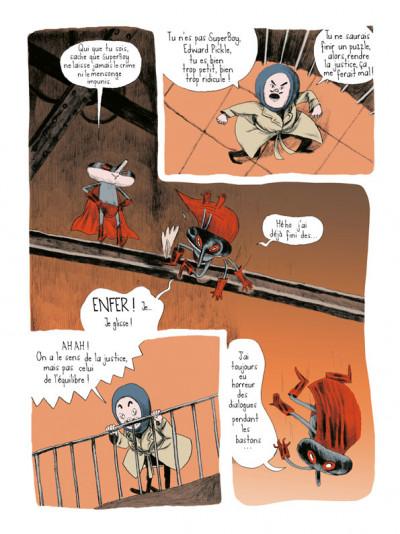 Page 4 abigail tome 1 - une aventure d'edward le héros super