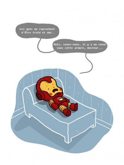 Page 1 psychanalyse du super héros