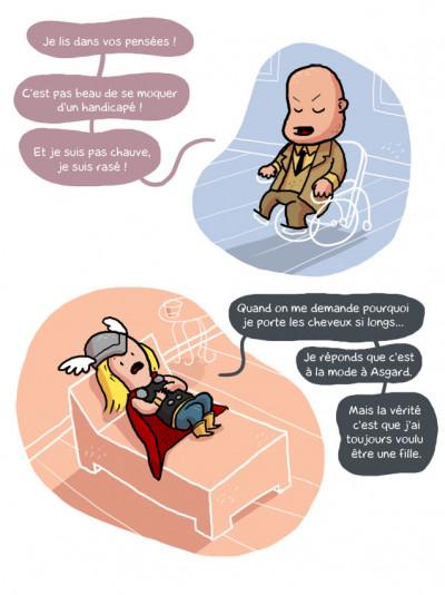 Page 4 psychanalyse du super héros