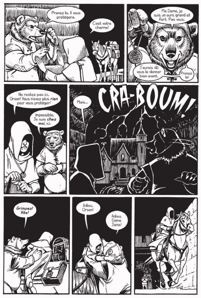 Page 3 château l'attente tome 1