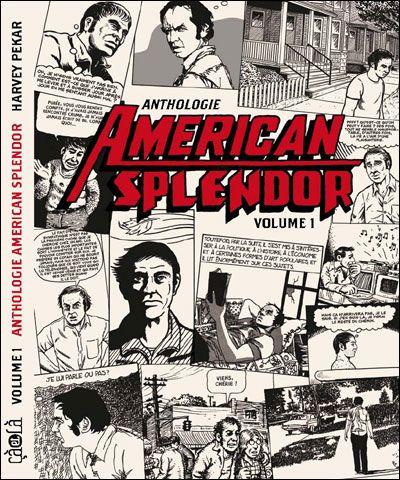 Couverture american splendor tome 1 anthologie