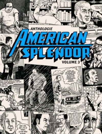Couverture anthologie american splendor tome 3
