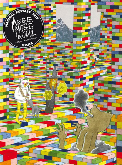 Couverture megg, mogg and owl tome 2 - magical ecstasy trip