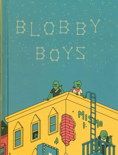 Couverture Blobby Boys