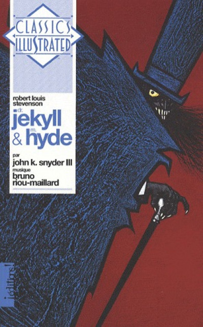 Couverture dr. jekyll et mr. hyde