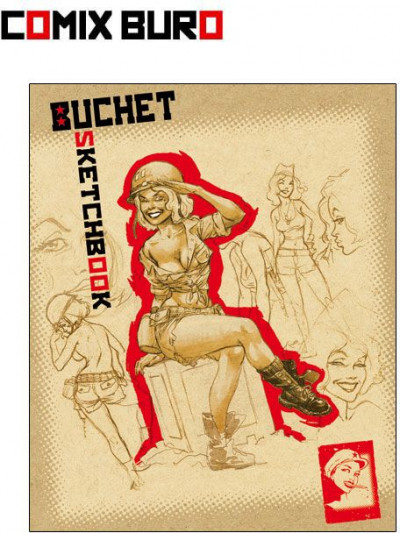 Couverture sketchbook buchet